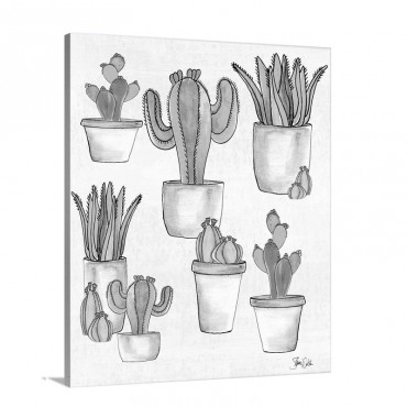 Cactus I I Wall Art - Canvas - Gallery Wrap