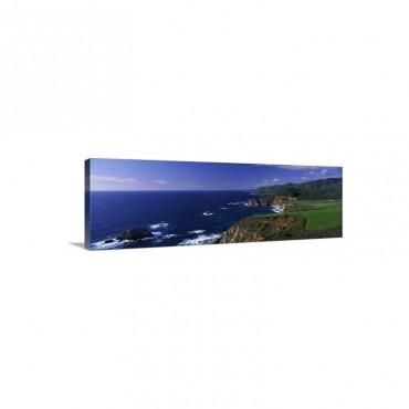 California Big Sur Pacific Coast Wall Art - Canvas - Gallery Wrap