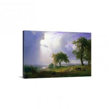 California Spring By Albert Bierstadt Wall Art - Canvas - Gallery Wrap