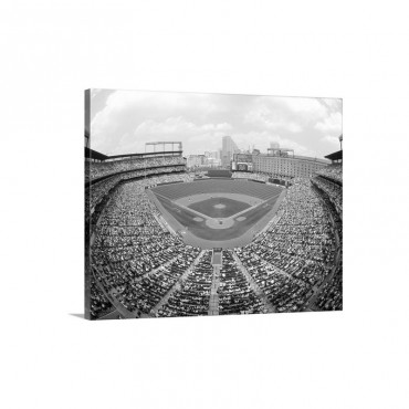 Camden Yards Baltimore MD Wall Art - Canvas - Gallery Wrap