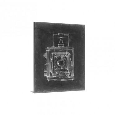 Camera Blueprints I Wall Art - Canvas - Gallery Wrap