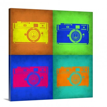 Camera Pop Art I Wall Art - Canvas - Gallery Wrap