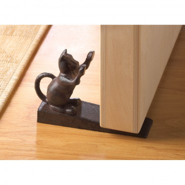 Cat Scratching Door Stopper