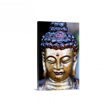China Beijing Golden Buddha From South East Asia Wall Art - Canvas - Gallery Wrap