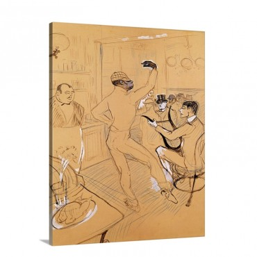 Chocolat Dancing 1896 Wall Art - Canvas - Gallery Wrap