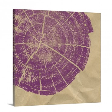 Chopped 14 Violet Wall Art - Canvas - Gallery Wrap