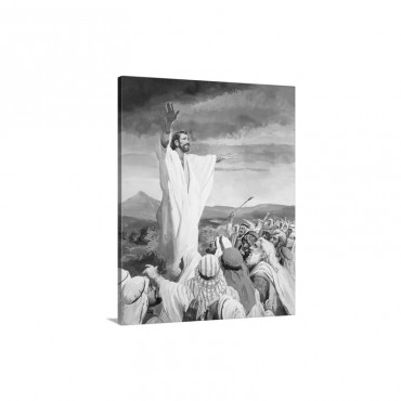 Christ Calming The Multitude Wall Art - Canvas - Gallery Wrap