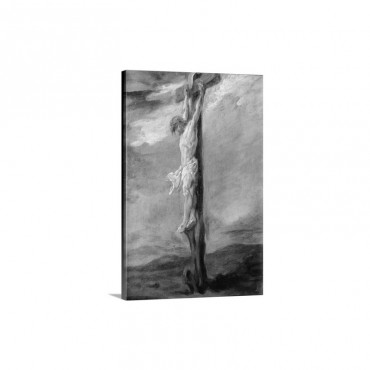 Christ On The Cross Wall Art - Canvas - Gallery Wrap