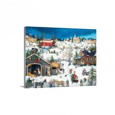 Christmas Memories Wall Art - Canvas - Gallery Wrap