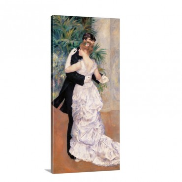 City Dance By Pierre Auguste Renoir 1883 Musee D'Orsay Paris France Wall Art - Canvas - Gallery Wrap