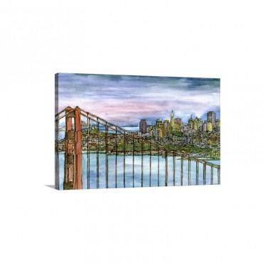 Coast To Coast I I Wall Art - Canvas - Gallery Wrap