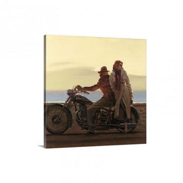 Coastal Ride Wall Art - Canvas - Gallery Wrap