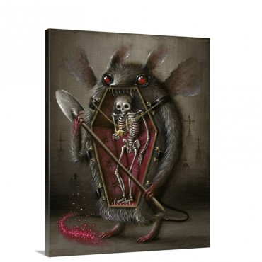 Coffinmouth Wall Art - Canvas - Gallery Wrap