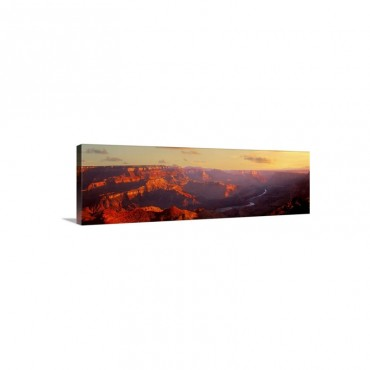 Colorado River And Grand Canyon National Park AZ Wall Art - Canvas - Gallery Wrap