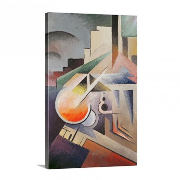Composition Wall Art - Canvas - Gallery Wrap