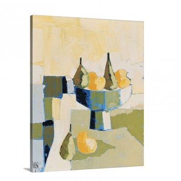 Coupe Au Four Fruits Wall Art - Canvas - Gallery Wrap