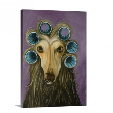 Curly Wall Art - Canvas - Gallery Wrap