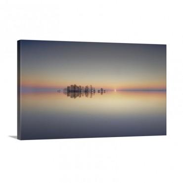Dawn At Lake Mattamuskeet Wall Art - Canvas - Gallery Wrap