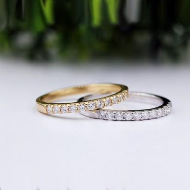 0.25CT.TW Diamond Wedding Band