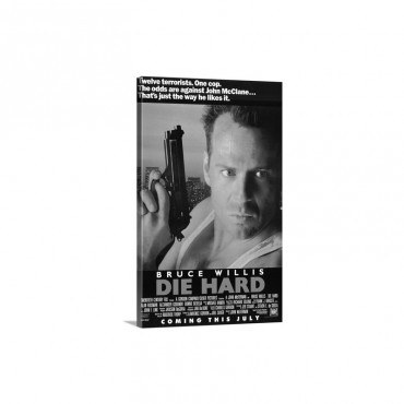 Die Hard 1988 Wall Art - Canvas - Gallery Wrap