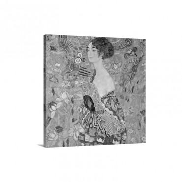 Donna Con Ventaglio Wall Art - Canvas - Gallery Weap