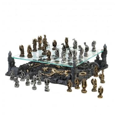Dragon Kingdom Chess Set