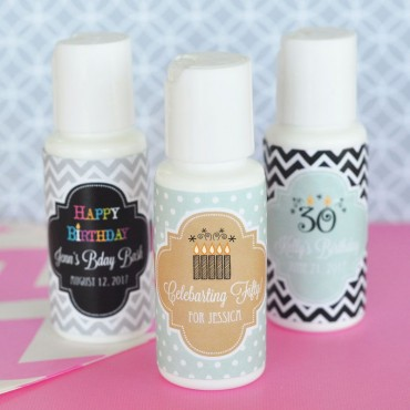 Personalized Birthday Sunscreen - 24 Pieces