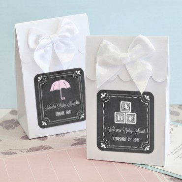 Sweet Shoppe Candy Boxes - Chalkboard Baby Shower - Set of 12 - 2 Sets