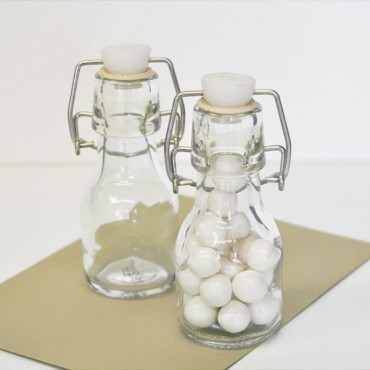DIY Blank Mini Glass Bottles
