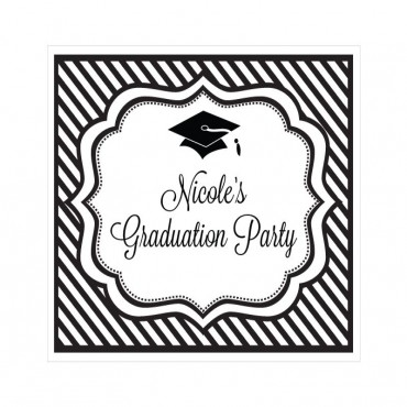 Personalized Graduation Party Sign