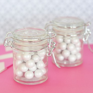 DIY Blank Glass Jar with Swing Top Lid - MINI