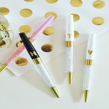 Monogram Pens - Set of 3