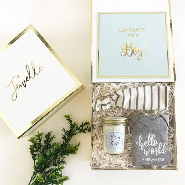 Personalized Baby Gift Box