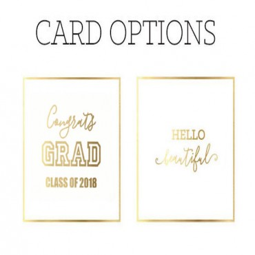 Black & White Graduation Gift Boxes
