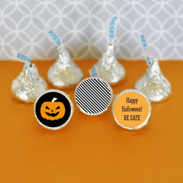Personalized Classic Halloween Hershey's® Kisses Labels Trio - Set of 108