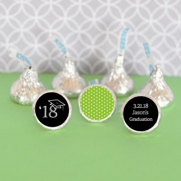 Personalized Graduation Hershey's® Kisses Labels Trio - Set of 108