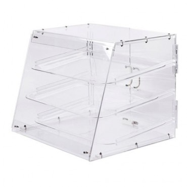 Empty Acrylic Bakery Case