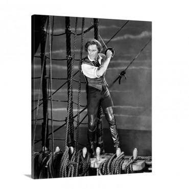 Errol Flynn 1909 1959 Wall Art - Canvas - Gallery Wrap