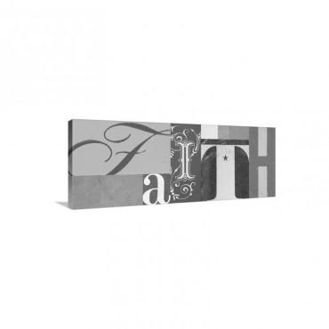 Faith 1 Wall Art - Canvas - Gallery Wrap