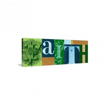 Faith 2 Wall Art - Canvas - Gallery Wrap