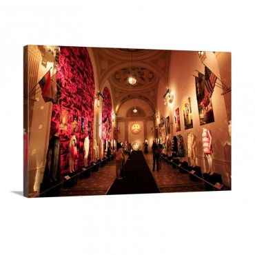 Fashion Exhibition At Musee De La Mode Et Du Costume Palais Galliera Wall Art - Canvas - Gallery Wrap