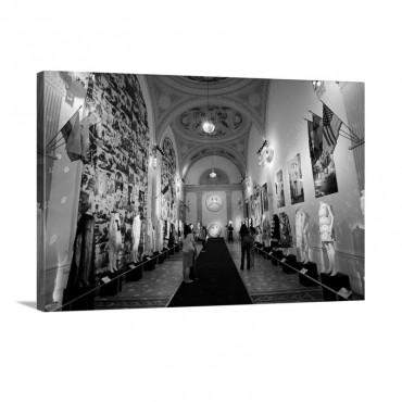 Fashion Exhibition At Musee De La Mode Et Du Costume Palais Galliera Wall Art - Canvas - Gallery Wrap