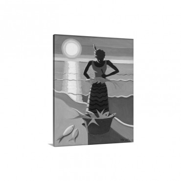 Fish Wife 2009 Wall Art - Canvas - Gallery Wrap