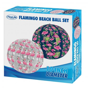 Flamingo Beach Ball Set