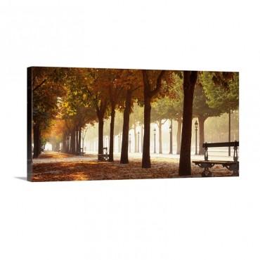 France Paris Champs Elysees Wall Art - Canvas - Gallery Wrap