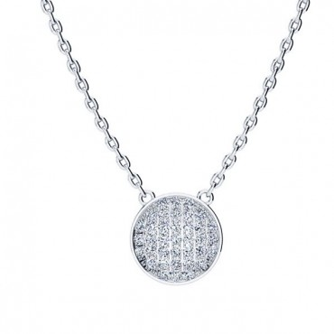 Gala Diamond Necklace - White Gold