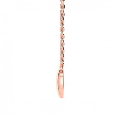 Gala Diamond Necklace - Rose Gold