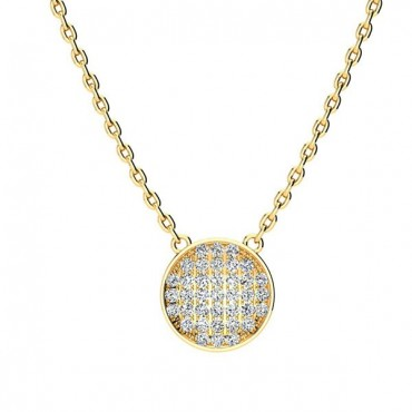 Gala Diamond Necklace - Yellow Gold