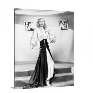 Ginger Rogers 1911 1995 Actress Wall Art - Canvas - Gallery Wrap