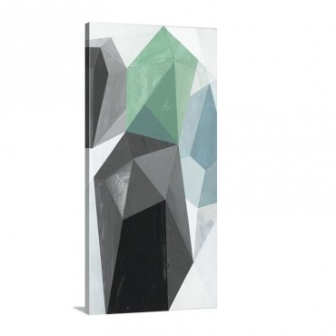 Glass Vase I  Recolor Wall Art - Canvas - Gallery Wrap